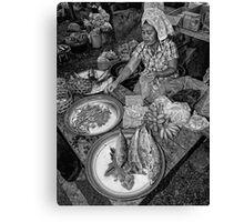 Fish Market Canvas Print
