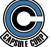 Capsule Corp Logo by sams-impala