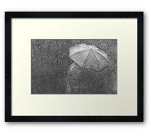 Raining again Framed Print