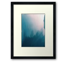 Glitch Sky Framed Print