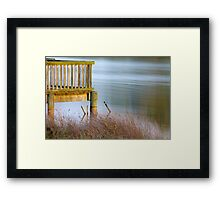 Looking Out My Backdoor Framed Print