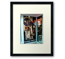 Northwest Tribal Art Shop...Open Framed Print