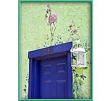 Blue 2938 Photographic Print