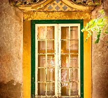 old window with a roof by terezadelpilar~ art & architecture