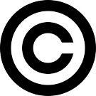 Copyright symbol by Kinnally