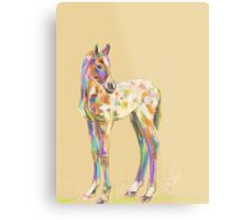 Foal paint Metal Print
