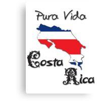 Costa Rica, Pura Vida Canvas Print