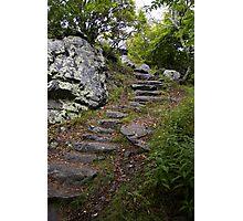 Steep climb ahead Photographic Print