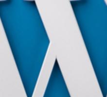 Wordpress Logo Sticker