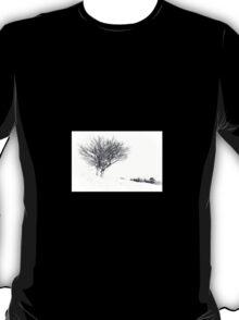 Winter Tree's in Snow T-Shirt