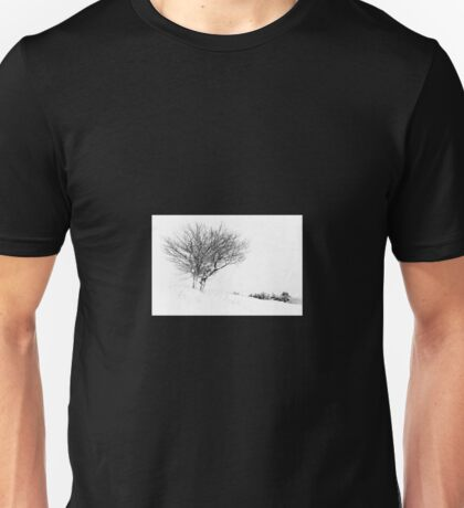 Winter Trees in Snow Unisex T-Shirt