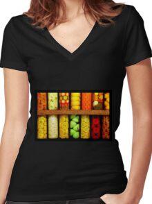 ~Seasonal Specimens~ Women's Fitted V-Neck T-Shirt