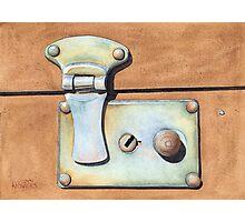 Case Latch Photographic Print