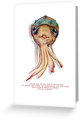 Little Profiles Optimistic Octopus by © Karin Taylor