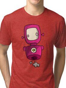 ROBOT PINK Tri-blend T-Shirt