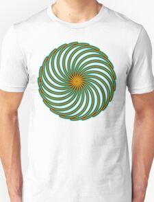 Dragon Curve - 21 Semi Circles T-Shirt