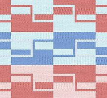 Retro Geometric Shapes Pattern by sale