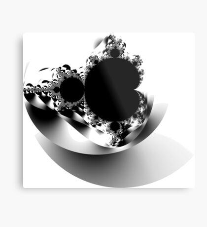 Untitled XVII - Black Metal Print