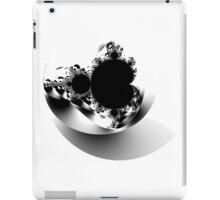 Untitled XVII - Black iPad Case/Skin