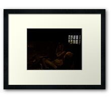 Thats where  you are. Framed Print