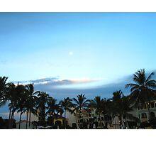 Moon shadows Photographic Print