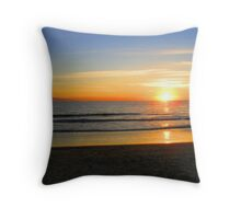 Ocean fire Throw Pillow
