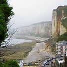 View at Yport,  Normandie , France by ienemien