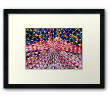 Rays Of Peace Framed Print