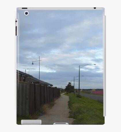 Cloudy Morning Walkway iPad Case/Skin