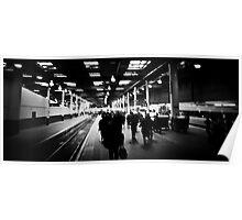 Commuting fast lane Poster