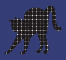 Black Cat Optical Illusion Effect by Irina Chuckowree