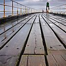 Whitby West Pier by Phillip Dove