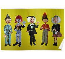 Pelham Puppets Poster