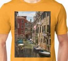 Back street in Venice (2) Unisex T-Shirt