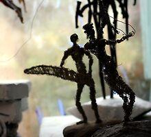 Wire Men by ForTheLoveOfArt