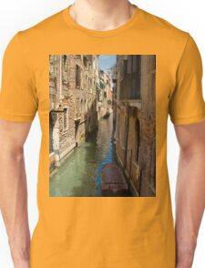 Back Street in Venice Unisex T-Shirt