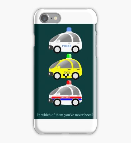 In which of them you've never been? iPhone Case/Skin