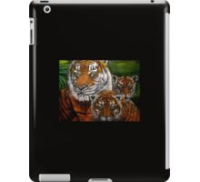 Tigers Family oil painting iPad Case/Skin