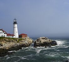 Portland Head Light - Portland Maine by MaryinMaine