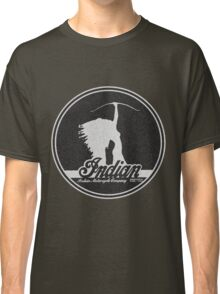 VINTAGE INDIAN MOTOCYCLE DESIGN Classic T-Shirt