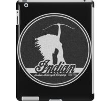 VINTAGE INDIAN MOTOCYCLE DESIGN iPad Case/Skin