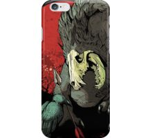 The Wolf Skull Jack iPhone Case/Skin