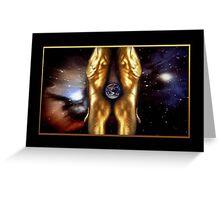 Earth Men Greeting Card