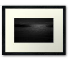 The Lights Of Gerrora Framed Print