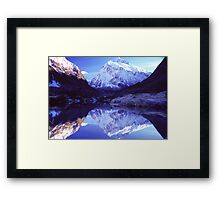 Avalanche Area Framed Print