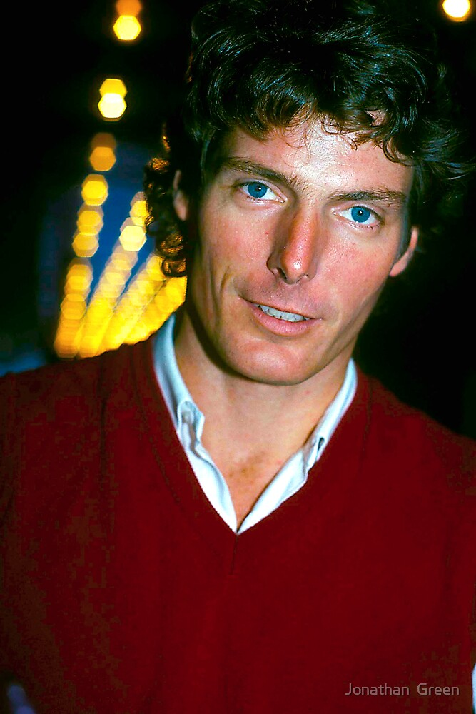 Christopher Reeve by Jonathan  Green