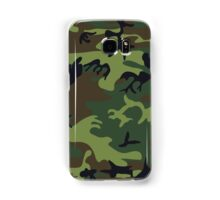 Army Camouflage by Chillee Wilson Samsung Galaxy Case/Skin
