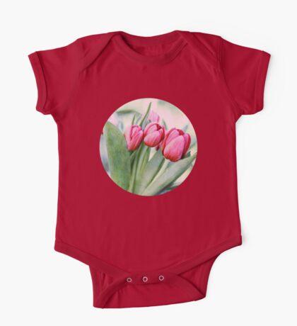Twilight Tulips One Piece - Short Sleeve