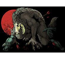 The Wolf Skull Jack Photographic Print
