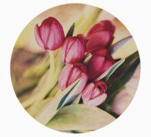 Vintage Tulips Kids Tee